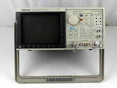 Tektronix Cts 750 Shd Test Set For Parts Or Repair Sold As Is