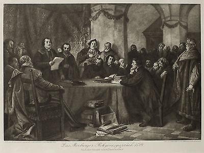 Das Marburger Religionsgespräch 1529