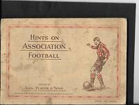 Player's - Hints On Association Football - 1934 - Full Set In Album - player's - ebay.co.uk