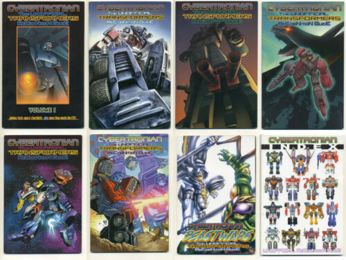 LOT CYBERTRONIAN TRANSFORMERS RECOGNITION GUIDE 1 2 3 4 5 6 Beast Wars Index