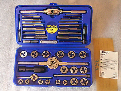 Irwin Hanson Industrial Tools 41 Piece Tap And Die Set - New In Box