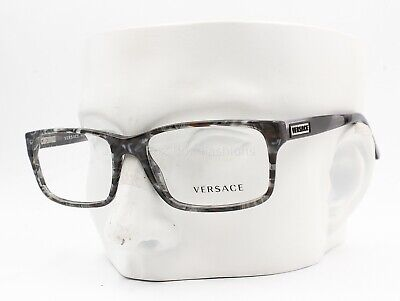 Versace MOD 3154 939 Mens Eyeglasses Frames Glasses Gray Horn 54-17-140