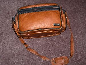 Large Leather Look IMAGE Camera Bag with multiple pockets