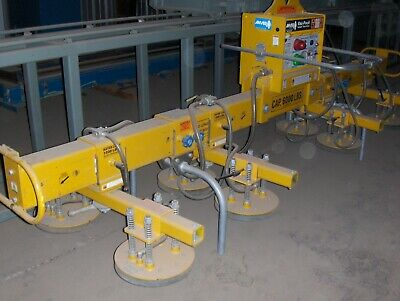 6000 Lb. Anver Mdl. Lg600m8 Vacuum Sheet Plate Lifter Mfg. 2011 Under 100 H