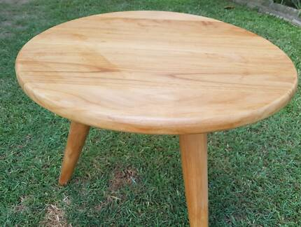 Table Solid Timber Teak & Mahogany