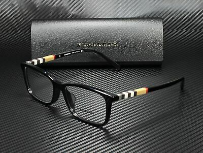 BURBERRY Eyeglasses 2199F in color 3001 in size: 55-17-145