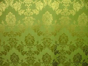Madagascar Designer Curtain Brocade Damask Upholstery Soft Furnishing Fabric