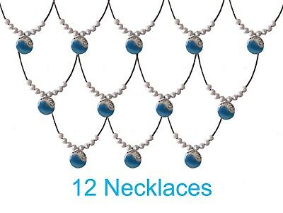 12 Moana Heart Of Te Fiti Birthday Party Favor Necklaces - Party Necklaces