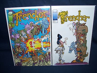 Trencher Board (Trencher #1 and #4 Image Comics with Bag and Board)