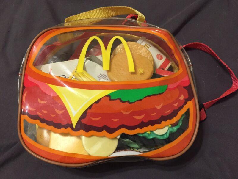 26 Piece Mcdonalds Backpack Playset