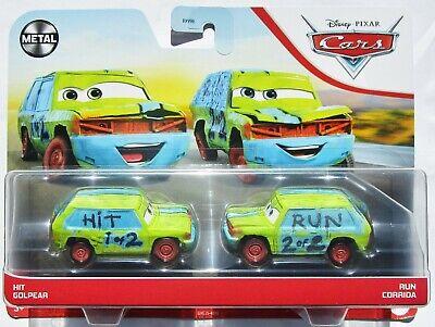 ++ 2021 Disney Pixar Cars - Hit & Run 2-Pack