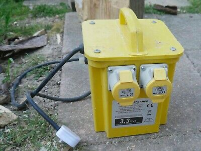 Defender E203010 110V 3kVA Portable Transformer only used a few times