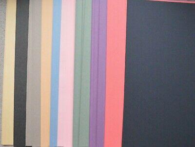 50 X A4 Reciclado Papel de Azúcar 140gsm Surtido Color Manualidades Papel...