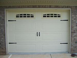 deluxe garage door decorative hardware kit hinges u0026 handles includes screws
