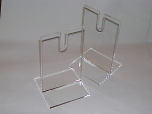 PAIR-OF-CLEAR-ACRYLIC-PERSPEX-MEDIUM-SWORD-SABRE-DISPLAY-STANDS