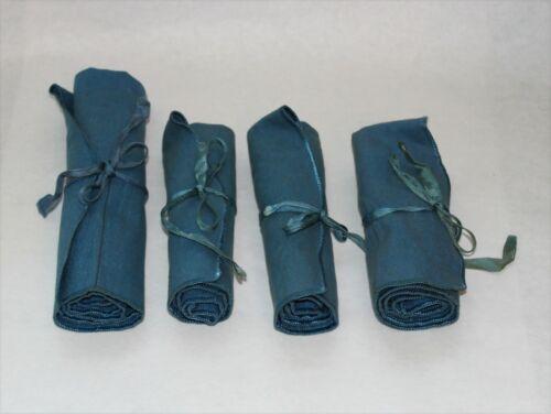 Leon Gordon Sterling Silver Anti-Tarnish Flatware Storage Roll Up Bag - Set of 4