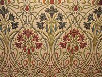 Art Nouveau Gioiello Spesso Design Jacquard Tenda Fodera Cuscino Utilizzare -  - ebay.it
