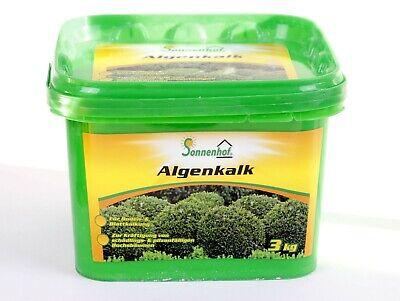 ( 5,66€/kg ) Sonnenhof® Algenkalk Zulässig für Bio-Anbau, Buchsbaum Kur, Pulver  (Pulver Dünger)