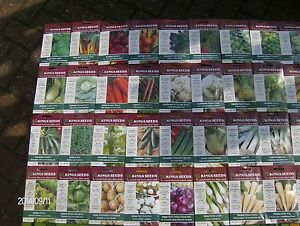 ... Seeds 60 Type Pot Leek Cabbage Tomato Chard Cucumber Sweet Corn | eBay