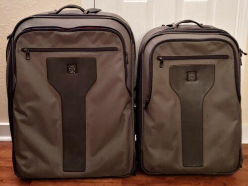Tumi T-Tech Adventure Medium Large Lot Of 2 Suitcases Grey 5725 5728 Extendable - $279.99