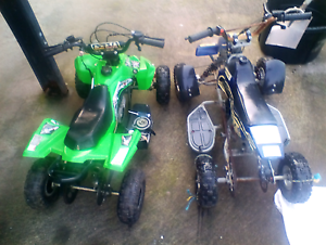 Bikes for sale kawasaki 250 and 2x 49cc quads Lanitza Clarence Valley Preview