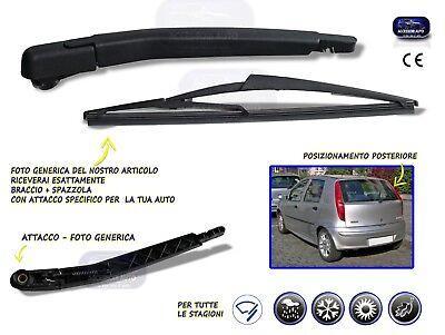 Braccio Tergicristallo posteriore Fiat Punto dal 1999 5p spazzola tergicristalli