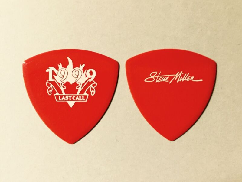 "STEVE MILLER BAND - 1999 Custom ""Last Call"" Tour Guitar Pick"