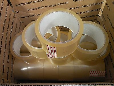 18 Rolls Clear Carton Sealing Packing Shipping Box Tape Moving 2
