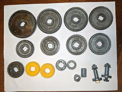 Change Gear Complete Set Banjo Bolts Bushings Atlas 618 Craftsman 101 6 Lathe
