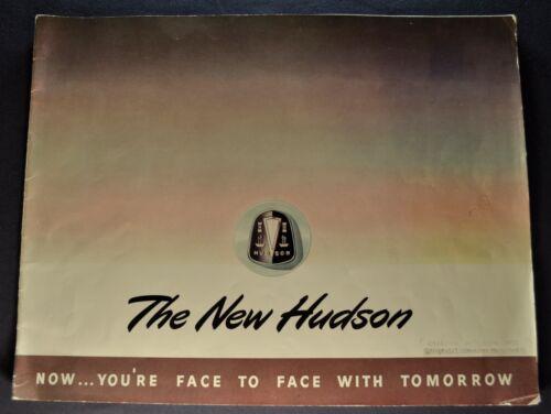 1948 Hudson Large Prestige Catalog Brochure Commodore Super Nice Original 48