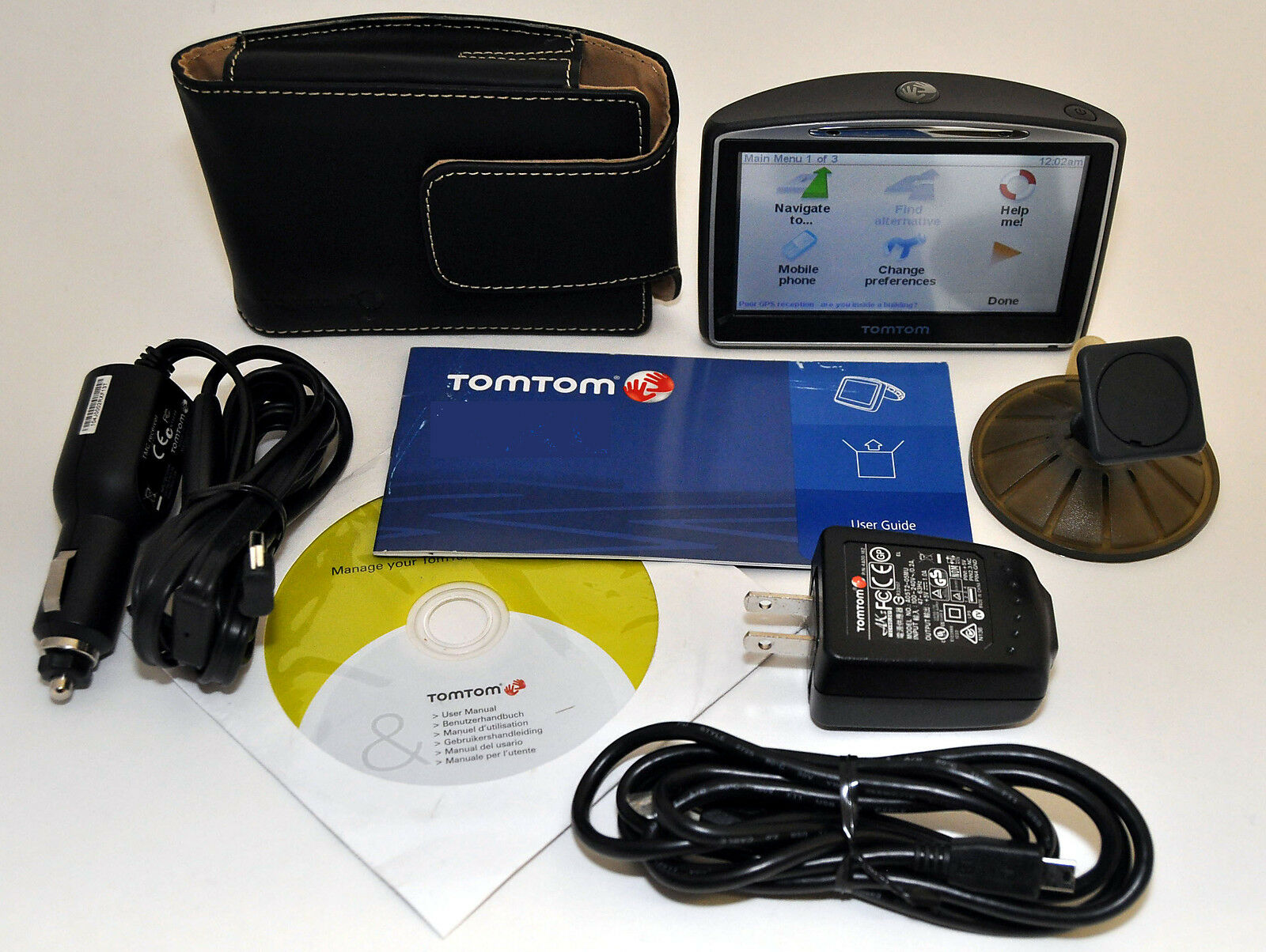 Tomtom Go 630t Car Portable Gps Navigator Lifetime Traffic Usa Charger Wiring Diagram Canada Maps 730