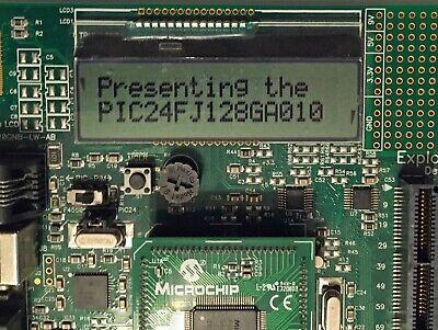 Microchip Explorer 16 Development Board Dm240001