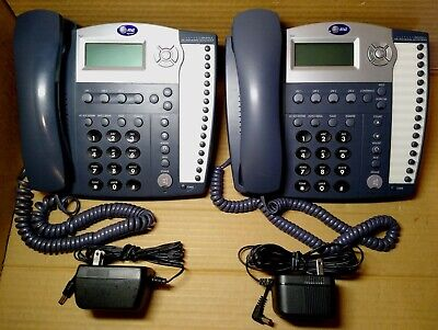 Lot Of 2 Att 945 4 Line Small Business System Telephones