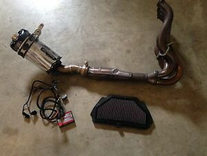 Exhaust Two Brothers Power Commander 5 / K&N