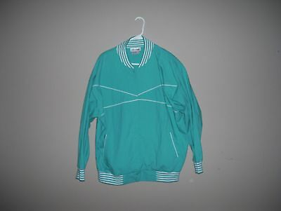 Objectives for Women Plus Size 42/22W Solid Green Baseball Jacket Long Sleeves