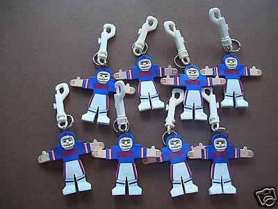 - Lot Of 8 Officially Licensed NFL Team Design Key Ring - New York Giants 6