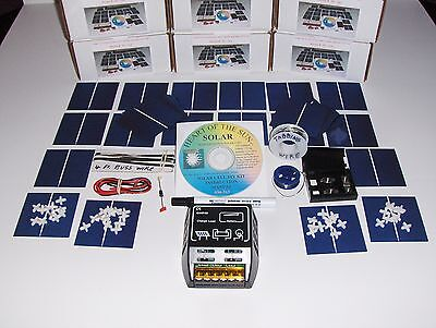 Learn to build your own solar cells panels diy kit  AND 10 AMP Attack CONTROLLER