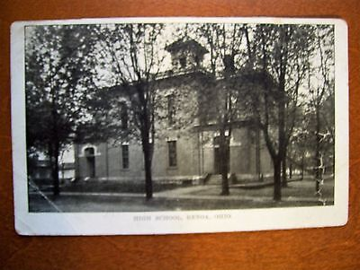 GENOA,OHIO HIGH SCHOOL POSTCARD-1909 POST (Genoa Post)