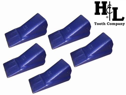 3CHLR H&L Original 3C Series Fabricated Bucket Tooth 5 Pack Teeth 3CH 3CHL 3CHXL