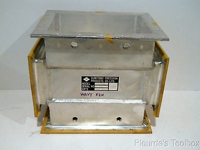 "Used Sumitomo Precision Products WA1756 Heat Exchanger 10-3/4"" x 9"" x 7-1/2"""