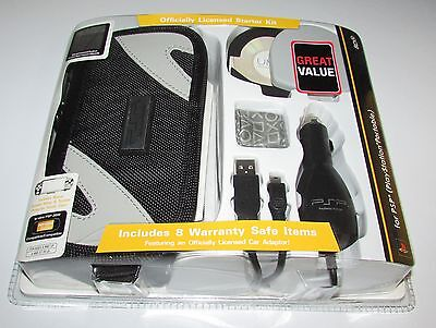 Psp Accessory Kit - Sony Licensed PSP 2000 Accessory Kit (Case, Car Charger, USB Transfer Cable)