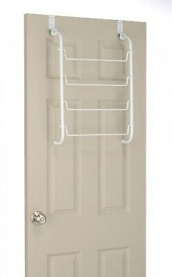 شماعة حمام جديد Whitmor 6023529 Over The Door Towel Rack, White, New, Free Shipping