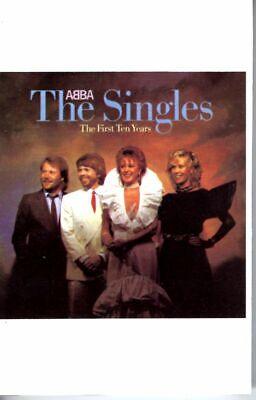 ABBA The Singles 1st 10 Years 1975 Cassette Tape Album Pop Dance Disco 80s 70s