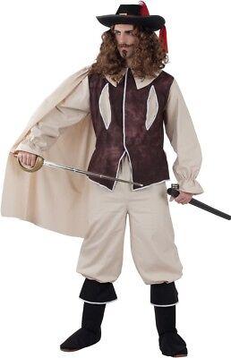 Déguisement Homme MOUSQUETAIRE Marron Luxe L D'Artagnan cinéma Film - Mousquetaire Kostüm