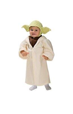 NWT STAR WARS YODA HALLOWEEN COSTUME WHITE GREEN 3T 4T BOYS  - Boys Yoda Costume