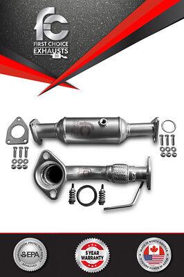 Fits:c2003 - 2007 Honda Accord Catalytic Converter & Front Flex Pipe 2.4L