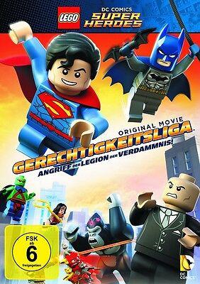 DVD * Lego Gerechtigkeitsliga - Angriff der Legion der Verdammnis * NEU OVP
