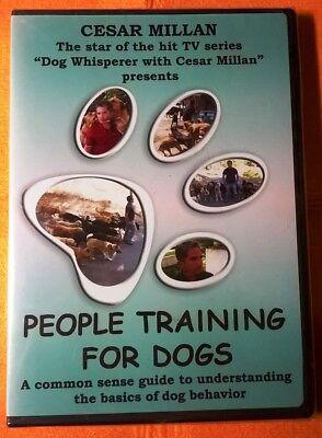Cesar Millan PEOPLE TRAINING FOR DOGS  DVD