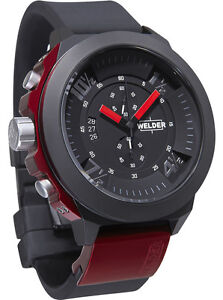 Welder by U-Boat K33 Chronograph Black Ion-plated Mens Sport Watch K33-9301