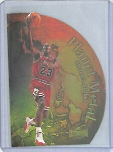 1998-99 Skybox Metal Planet Metal #1 Michael Jordan